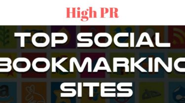 High PR Social Bookmarking Sites in 2018